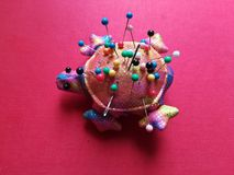 accessories sewing, pins stock images