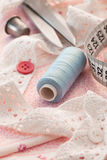 Accessories for sewing Stock Photos