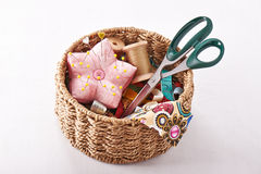 Accessories for sewing Royalty Free Stock Image