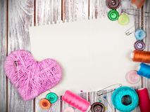 accessories for sewing Stock Photography