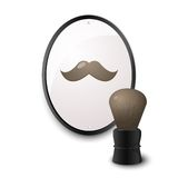 Accessories for shaving Stock Images