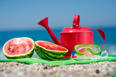 Accessories for summer vacation Stock Image