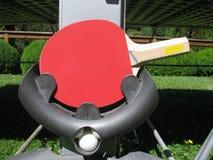 Accessorio della racchetta di ping-pong Immagine Stock Libera da Diritti