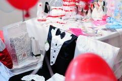 Accessorio di nozze Fotografie Stock