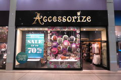 Accessorize brand store Stock Images