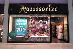 Accessorize brand store Stock Photography