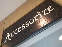 Accessorize store. Heidelberg, Germany - August 24, 2017: Accessorize store exterior. Founded in 1983, the English company provides bags, purses, jewellery Royalty Free Stock Photography