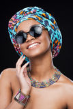 Accessorizes which make her style perfect. Royalty Free Stock Images