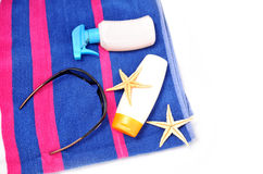 Accessory for beach Stock Images