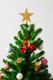 An accessory for decoration on  christmas tree Royalty Free Stock Photography