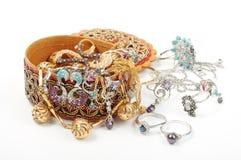 accessory guld Royaltyfri Bild