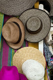 Accessory - Hats. In South America Stock Photography