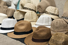 Accessory - Hats. In South America Royalty Free Stock Photos