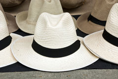 Accessory - Hats. In South America Royalty Free Stock Photo