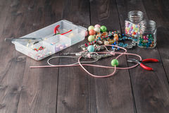 Accessory for making home craft art jewellery Stock Image