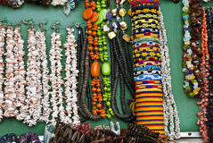 Accessory - Necklaces and bracelets Royalty Free Stock Images