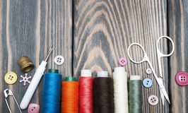 Free Accessory Of The Tailor Royalty Free Stock Images - 46668069