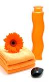 accessory orange spa Στοκ φωτογραφία με δικαίωμα ελεύθερης χρήσης