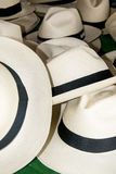 Accessory - Panama Hats Royalty Free Stock Photos