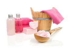 Accessory for sauna or spa Stock Images