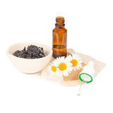 Accessory for a spa therapy on white Stock Photo