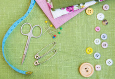 Accessory of the tailor Royalty Free Stock Images