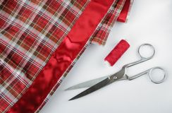 Accessory of the tailor Stock Photos