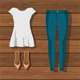 Accessory womenswear design. Illustration eps10 graphic Stock Photo