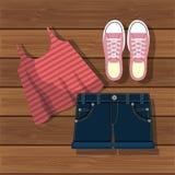 Accessory womenswear design Stock Photo
