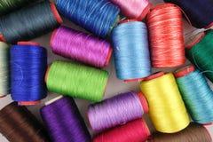 Accessotires de Multicolores pour la couture Photo stock