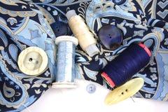 Accessotires de Multicolores pour la couture Image stock