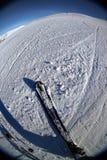 Acción 2. del esquí imagen de archivo