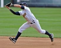 Acción 2012 del béisbol de la liga menor Foto de archivo