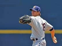 Acción 2012 del béisbol de la liga menor Imagen de archivo