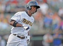 Acción 2012 del béisbol de la liga menor Fotografía de archivo