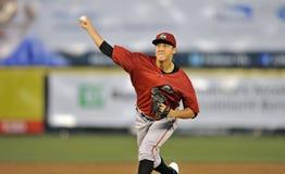 Acción 2012 del béisbol de la liga menor Imagenes de archivo