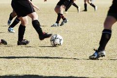 Acción 7. del fútbol. Fotos de archivo libres de regalías