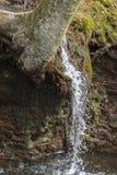 Acción congelada cascada Imagen de archivo libre de regalías