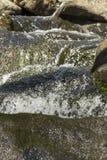 Acción congelada cascada Imagenes de archivo