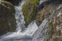 Acción congelada cascada Fotografía de archivo libre de regalías