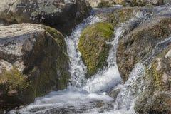 Acción congelada cascada Foto de archivo
