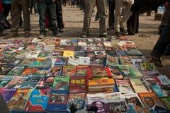 Acción CPN-UML contra el partido mao3ista en Nepal Imagen de archivo libre de regalías