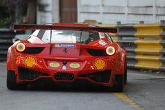 Acción de Ferrari en la serie estupenda de Tailandia Fotografía de archivo libre de regalías