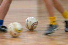 Acción de Futsal imagen de archivo libre de regalías