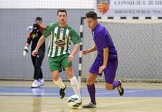 Acción de Futsal Imágenes de archivo libres de regalías