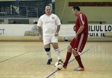 Acción de Futsal Fotos de archivo