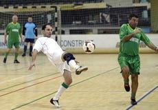 Acción de Futsal Imagen de archivo