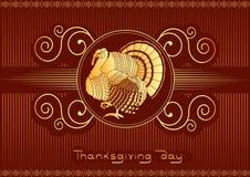 Acción de gracias adornada. Fotografía de archivo libre de regalías