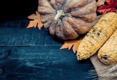 Acción de gracias en la estación del otoño Imágenes de archivo libres de regalías