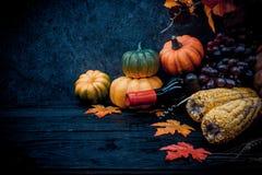 Acción de gracias en la estación del otoño Imagen de archivo